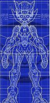 Mega Man Zero Blueprints by karlyp411