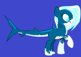 MLP- Shark Adoptable -draw to adopt- :closed: by TFAfangirl14