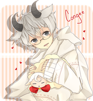 Congee bby~ by Sohungryman
