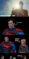 Kal-El's cameo on Supergirl's Series Premiere by AppokalipsSurvivor