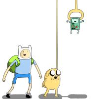 Finn Jake And Bmo by FinnDude