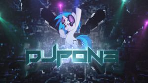 Vinyl Scratch wallpaper by RainbowDash1126