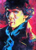 Benedict Cumberbatch - Sherlock Collage by Neovirah