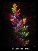 Psychedelic Plant by psion005