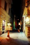 Evening Budapest street by eugene-dune