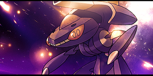 Genesect Signature by LVAchromatic
