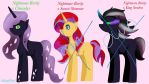 .: MLP Adopt Breed - Nightmare Rarity .Open. :. by ASinglePetal