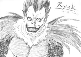 Ryuk by No-one-o1