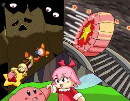 Kirby OoD Ch. 4 Scene - Escape from Dreamland by ChronoWeapon