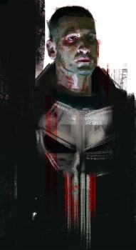 THE PUNISHER / JON BERNTHAL / SEASON 2 DAREDEVIL by TheFrisbeeman