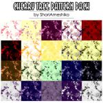 Cherry Tree Pattern Pack by ShoriAmeshiko