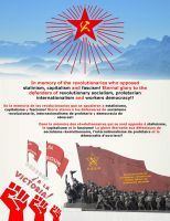 In memory of the revolutionary socialists by UDSS
