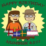 Numbuh 43's Birthday by TheKnockoutKings