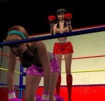 Nicole vs Lilly 009 by chuy9502