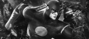 The Flash - Black White Sig by me969