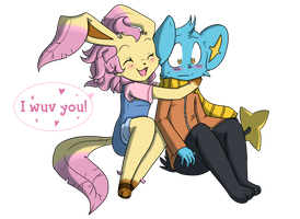 I Wuv You! by Princess-Hanners