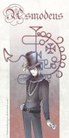 Bookmark :: Asmodeus by LaDameDePique