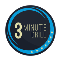 3 Minute Drill Logo (Colour Change) by smcveigh92