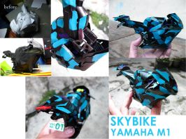 Yamaha M1 SkyBike VocaStrip by PaperBot
