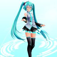 [MMD] Miku Thing Once Again by sailor-rice