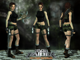 Lara Croft TRAOD Urban Short Outfit by Lerova by Lerova