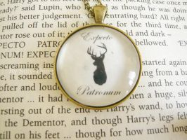Expecto Patronum Necklace. by Silly-Thing