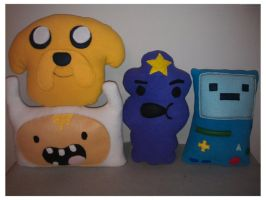 Adventure Time Pillows by LittleCritters00