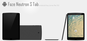 Faze Neutron S Tab - Android Tablet by TheTechnikStudios