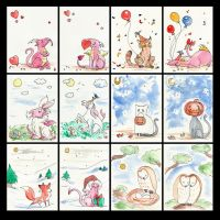 Greeting Cards by Verdego
