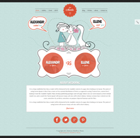 Wedding WordPress Theme by sandracz