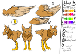 Hopite /Flying/ Reference -Open species- by speedcow12