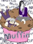 Giant Muffin by KabutoNosebleed