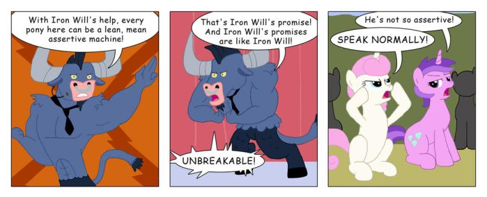 Iron Willing 3 by T-Brony
