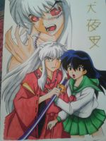 Inuyasha and Kagome by Tamara-chan1