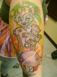 Zombie Girl Tattoo2 by Toast79