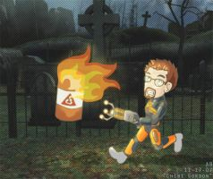 HL2: Chibi Gordon by mistress-samwise