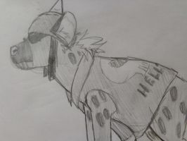 ::TAR:: Biker Hyena by The-Smile-Giver