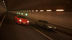 GT6 - Special Stage Route 240sx vs Silvia by WingGT5
