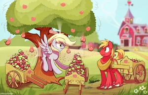 Applebuttin' by Littleivy25