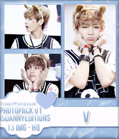 V (BTS) - PHOTOPACK#01 by JeffvinyTwilight
