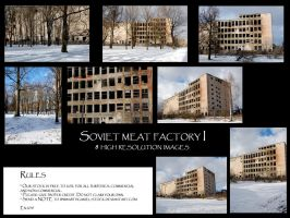 Soviet meat factory I by Mithgariel-stock