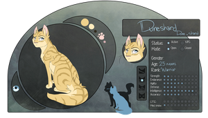WDS:. Duneshard: Warrior of Riverclan: WIP by DeliriousPup