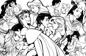 Disney Power Couples by R-becca