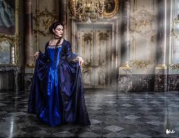 Rococo' inspired dress 'Marquise' by DanielleFioreModel