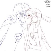 Steal a Kiss -uncolored- by LeaveFishysWishbones