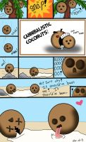 Cannibalistic Coconuts 2 by Chr-ali3