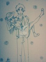Fleur and Justin picture perfect by Xarante
