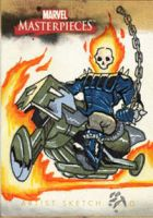 Marvel Masterpieces GhostRider by MJTannacore