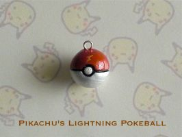Pikachu Lightning Pokeball by GandaKris