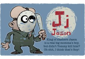 J is for Jason by Ape74